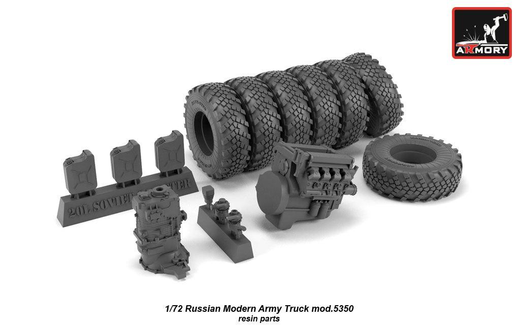 modelsUA > TRUCKS 1:72 > kamaz 5350 6x6 military truck 1:72