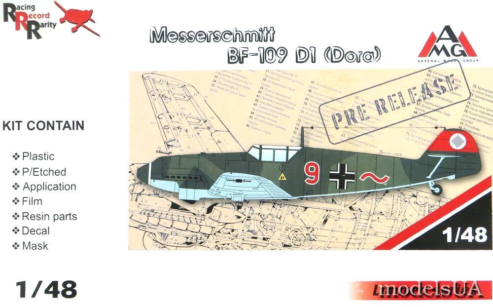 Messerschmitt Bf.109 D-1 1//48 AMG # 48719 PE /& resin parts