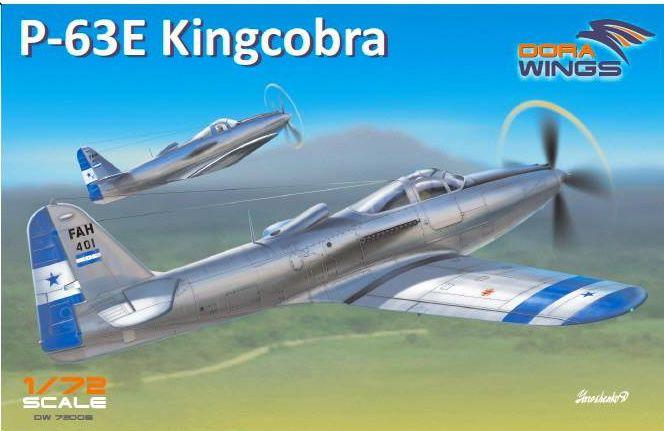 Dora Wings 1//72 Bell P-63A Kingcobra Racer # 72010