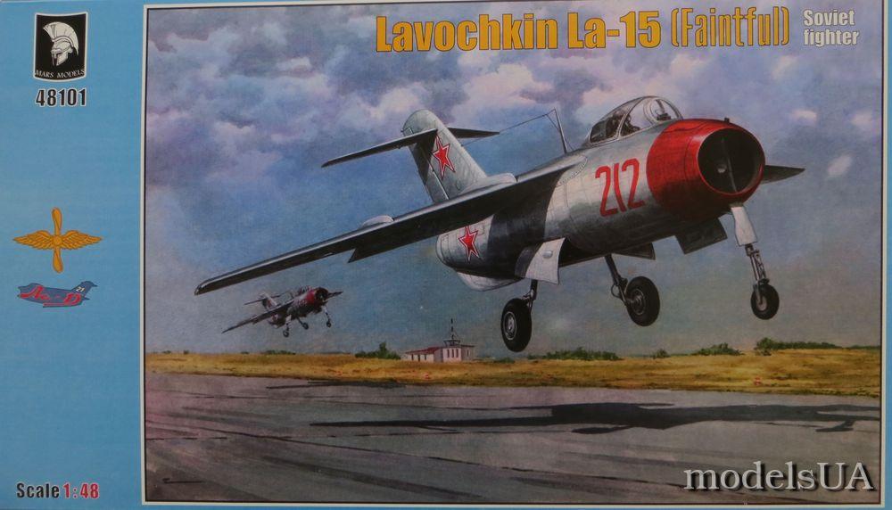 NEW Mars Model! 1//72 Lavochkin La-15 Fantail