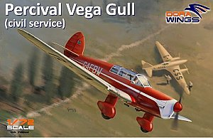 Percival Vega Gull (civil) 1:72 DORA Wings 72002