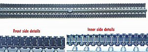 BMP type rubber tracks 1/72 ACE ACEr006