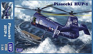 Piasecki HUP-1 (Retriever / H-25 Army Mule) first series US helicopter 1:48 AMP48012