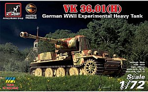 VK 36.01(H) German WWII Experimental Heavy Tank  1/72 Armory AR72210
