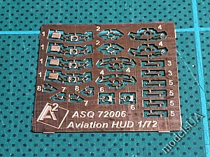 Soviet Aviation Sights with HUD 1/72 A-Squared 72006