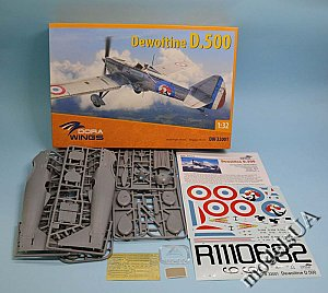 Dewoitine D.500 DORA Wings 1:32 32001