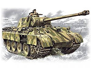 Pz.Kpfw. V Panther Ausf.D, German tank WWII - 1/35 ICM 35361