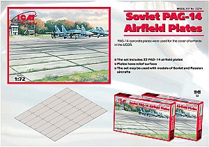 PAG-14 airfield plates 1/72 ICM 72214