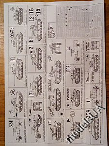Lend-Lease tanks in Red Army set 2 - 1:35 ACE decal 35002