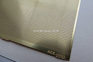Slanting net - cell 1,6x0,5mm 70*45mm ACE PEs003