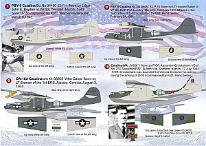 Consolidated PBY Catalina 1/144 Print Scale 14403