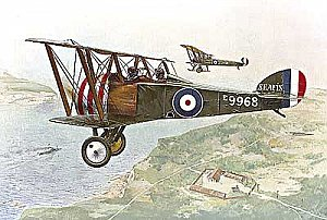 Sopwith Camel Trainer 1/72 Roden 054