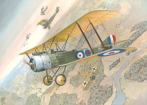Sopwith 11/2 Strutter two-seat fighter 1/48 Roden 402