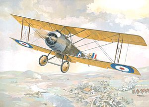 Sopwith 11/2 Strutter single-seat bomber 1/48 Roden 404