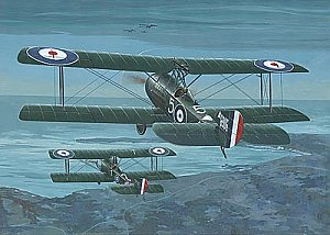 Sopwith 11/2 Strutter comic f. 1/48 Roden 407