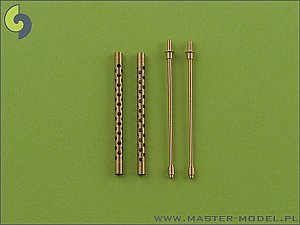 Browning M2 aircraft .50 caliber (12.7mm) barrels (2pcs) 1/35 MASTER SM-35-001