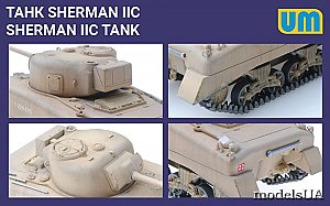 Sherman IIC medium tank 1:72 UM 384