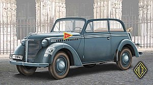 Opel Olympia Stabswagen 1938 (Staff Car) Cabriolet 1/72 ACE 72507