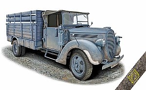 Ford G917T 3t German Cargo truck (simplified cab) 1:72 ACE 72575