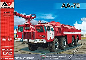 AA-70 Aircraft Rescue and Firefighting (ARFF) truck 1:72 A&A 7219
