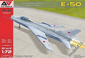 Ye-50 (E-50) soviet interceptor with rocket engine 1:72 A&A 72023