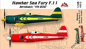 "Sea Fury F.11  Aerobatic ""VH-BOU"" 1/48 AMG 48512"