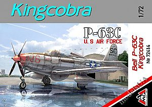 Bell P-63C Kingcobra US Air Force 1/72 AMG 72414