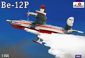Beriev Be-12P Soviet firefighter 1/144 Amodel 1442