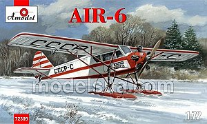AIR-6 Yakovlev winter ski ver. 1:72 Amodel 72309