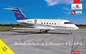 Bombardier Challenger CL-600 1:72 Amodels 72363