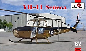 Cessna YH-41 Seneca helicopter 1:72 Amodel 72366