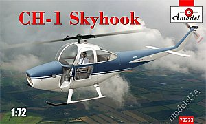 Cessna CH-1 Skyhook helicopter 1:72 Amodel 72373