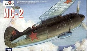 IS-2 Soviet experimental fighter 1/72 Amodel 7276