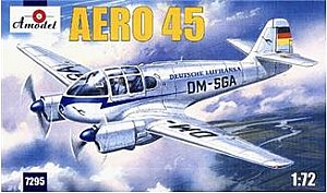 Aero 45 civil aircraft 1/72 Amodel 7295