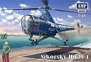 Sikorsky HO3S-1 (S-51) helicopter 1:48 AMP48001