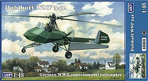 Doblhoff WNF 342 German WWII helicopter 1:48 AMP48008