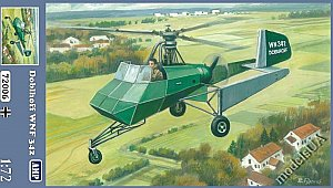 Doblhoff WNF 342 German WWII helicopter 1:72 AMP 72006