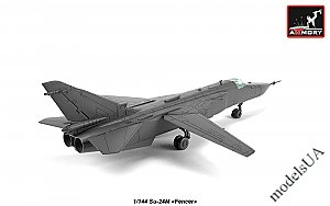 Sukhoi Su-24M Fencer-D soviet supersonic attack aircraft 1:144 Armory 14702