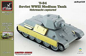 T-34 captured photo-etched set 1/72 Armory ARPE7238