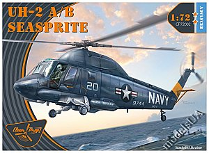 Kaman UH-2 A/B Seasprite 1:72 Clearpropmodels CP72002