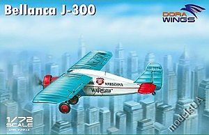 "Bellanca J-300 (""Liberty""+""Warsaw"") 1:72 DORA Wings 72012"