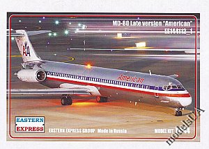 McDonnell Douglas MD-80 late American (Limited Edition) 1:144 Eastern Express 144112_1
