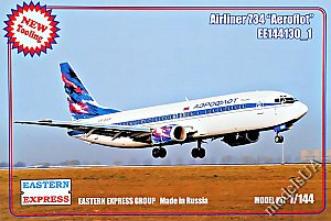 Boeing B-737-400 Aeroflot ( Limited Edition ) 1:144 Eastern Express 144130_1