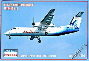 Bombardier Dash 8 Q300 Maldivian (Limited Edition) 1:144 Eastern Express 144134_4