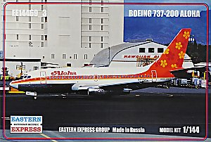 Boeing 737-200 Aloha Airlines 1/144 Eastern Express 14469_3