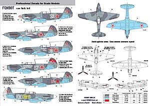 DECALS YAK-9T EASTERN EXPRESS 72227 1//72