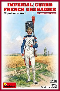 IMPERIAL GUARD FRENCH GRENADIER. NAPOLEONIC WARS 1/16 MiniArt 16017