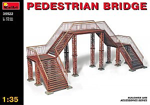 PEDESTRIAN BRIDGE 1/35 MiniArt 35522