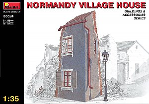 Normandy Village House 1/35 MiniArt 35524