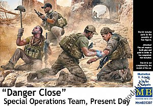 Danger Close. Special Operations Team, Present Day 1/35 Master Box 35207
